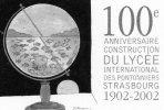 Auto-collant Illustré Par Tomi Ungerer - Lycée International Des Pontonniers 1902-2002 - Vecchi Documenti