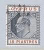Cyprus 58   (o)  Wmk 3  Multi CA - Cyprus (...-1960)