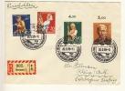 BREMEN - 1959 , R-Brief Nach Rheine - BRD
