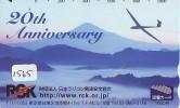 Télécarte Japon * AVION (1565)  * AIRLINES * AIRPORT * AIRPLANE *  PHONECARD * JAPAN * FLUGZEUG * VLIEGTUIG - Flugzeuge