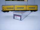ELECTROTREN H0 Réf.: 5560 : Wagon à Parois Coulissantes DANZAS, - Wagons Marchandises