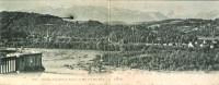 64 PAU Carte Panoramique Panorama De La Chaîne Des Pyrénées, Vue Prise De La Place Royale - Pau