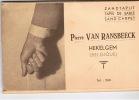 Hekelgem  Pierre Van Ransbeeck Zandtapijt Tapis De Sable Sand Carpet 8 Zichten Vol - Affligem