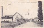 CPA 71 @ SAINT MARTIN EN BRESSE @  Quartier Des Moulins - Route De Châlon @ Usine - Autres Communes