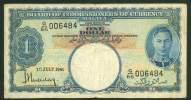 MALAYA , 1 DOLLAR 1.7.1941. P-11 - Bankbiljetten