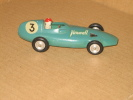 Solido : Voiture De Course VANWALL F.1 (F1), Suspension, 1/43, Made In France, état Excellent, Quasi Neuf - Solido