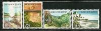 "Papua New Guinea          ""Views""      Set      SC# 610-13    MNH** - Papoea-Nieuw-Guinea"