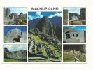 Cp, Pérou, Cusco, Machupicchu, Multi-Vues - Pérou