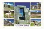 Cp, Pérou, Cusco, Sacsayhuaman, Multi-Vues - Pérou