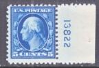 U.S. 504   Perf 11    **   Flat Press  No Wmk. 1917-19  Issue - Vereinigte Staaten