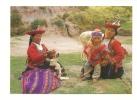 cp, P�rou, Cusco, Des femmes natives du Pays
