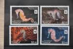 G 160 ++ TONGA 2012 WWF SEA HORSE ZEEPAARDJE ++  MNH ** - Tonga (1970-...)