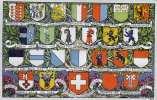1905, Schweizer Wappenkarte, Nicht Gel.um 1905 - Schweiz