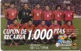 ACR-012 TARJETA DE AIRTEL DE LA SELECCION ESPAÑOLA DE 1000 PTAS - Spanien