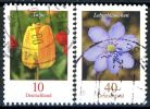 BRD - Michel 2484 / 2485 - OO Gestempelt (A) - 10-40C  Blumen, Tulpe, Leberblümchen - [7] República Federal