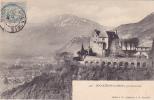 CPA 38 @ BOUQUERON LES BAINS Près De GRENOBLE @ En 1905 @ Château - France