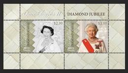 Tokelau 2012 - Diamond Jubilée Reine Elisabeth II - BF Neuf // Mnh - Tokelau