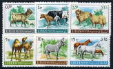 Lebanon #453-58 Mint Never Hinged Animal Set From 1968 - Lebanon