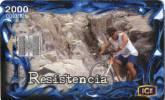Lote TTE53, Costa Rica, Tarjeta Telefonica, Phone Card, Resistencia, Ciclismo, Used, Not Perfect Card - Costa Rica