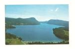 Cp, Etats-Unis, Aerial View Of Lake Willoughby, Voyagée 1974 - Etats-Unis