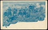 ILLUSTRATORE RINALDI BATTAGLIA DI MOLA DI GAETA 4 NOVEMBRE 1860 - Manovre