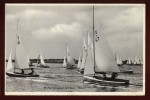 Cpsm Angleterre  Full Sail , Aldeburgh  River   LOK19
