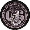 écusson ,Groupe D'Intervention Police Nationale NICE 06, Cobra Fond Noir - Police & Gendarmerie