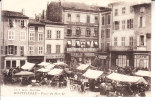 FRANCIA - MONTELIMAR - Piazza Con Mercato, Molto Animata, Scritta 1916 - MAG -26-49 - Francia