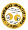LE BONHEUR DES CHIENS ET DES CHATS / PERPIGNAN - Autocollants