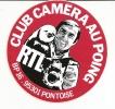RTL / CLUB CAMERA AU POING 95 PONTOISE - Stickers