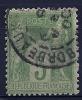 """YT 102  """" Sage Type III 5c. Vert-jaune """"  1898-1900 Cachet à Date - 1898-1900 Sage (Type III)"""