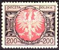 POLAND 1921 Eagle 200mk Fi 138 Mint Never Hinged - Ongebruikt