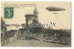 LE DIRIGEABLE CLEMENT BAYARD EVOLUANT AU-DESSUS DU MOULIN D'ORGEMONT - Zeppeline