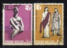 Greece 1975 / Mi 1209/10 > Woman's Year > Used (o) - Oblitérés