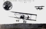 Circuit De L'Est 1910 - Weyman Sur Biplan Henri Farman Avant Sa Tentative Du Grand Prix Michelin - - Aviateurs