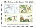 Norfolk Island......:  1989 Bounty Souvenir Sheet - Norfolk Island
