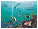 Norfolk Island......:  1998 Reef Fish Souvenir Sheet MNH - Norfolk Island