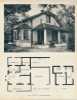 """Planche 1952 (photo Et Plan) : Villa """"Le Nid"""" à Verneuil-sur-Seine (78, Yvelines) - Architecture"""
