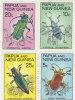 Papua New Guinea....:   Papua New Guinea  1967 Beetles MNH - Papua New Guinea