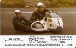 TARJETA DE LA ISLA DE MAN DE UNAS MOTOS DE CARRERAS Nº10   (MOTO-MOTORBIKE) NUEVA-MINT - Motos