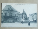 SAINT DIZIER - Place D'Armes, Théatre Et Monument - Saint Dizier