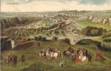 Postal LUXEMBOURG (siege De Luxembourg) 1684. Pintura Van Der Meulen - Otras Guerras