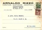 H-COMMERCIALE-ARNALDO RIZZO FORNITURE ELETTRICHE-GENOVA-SESTRI - Publicité
