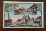 B 8920 BIXSCHOOTE-POELKAPELLE, 3-Bilder, Feldpost 1915 - Langemark-Poelkapelle