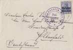 Dt. Besetzung Belgien Brief EF Minr.4 Zensur Ansehen !!!!!!!! - Besetzungen 1914-18