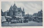 Amsterdam - Nieuwmarkt, Market In Jewish Neighbourhood, Lively Scene, ± 1920 - Amsterdam