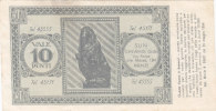 BUONO / BALOON - GUM - Biglietto Premio Da 10 Punti - 1954 - Non Classificati