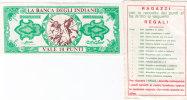 LA BANCA DEGLI INDIANI _  BUONO DA 10 PUNTI - Non Classificati