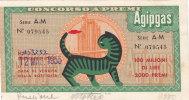AGIPGAS _ CONCORSO A PREMI - 1955 - Zonder Classificatie