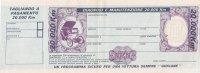 FIAT _ Tagliando A Pagamento - [ 2] 1946-… : Républic